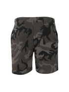 Urban Classics Basic Terry Shorts, dark camo