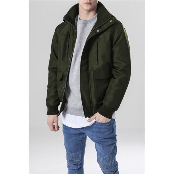 Urban Classics Heavy Hooded Jacket, darkolive