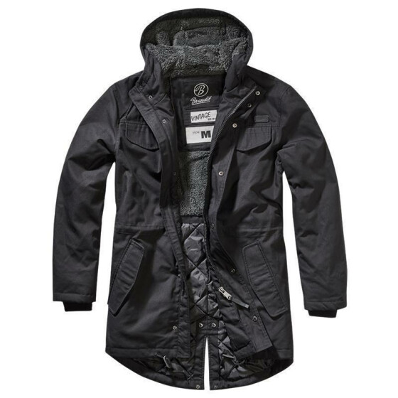 BRANDIT Marsh Lake Parka, black