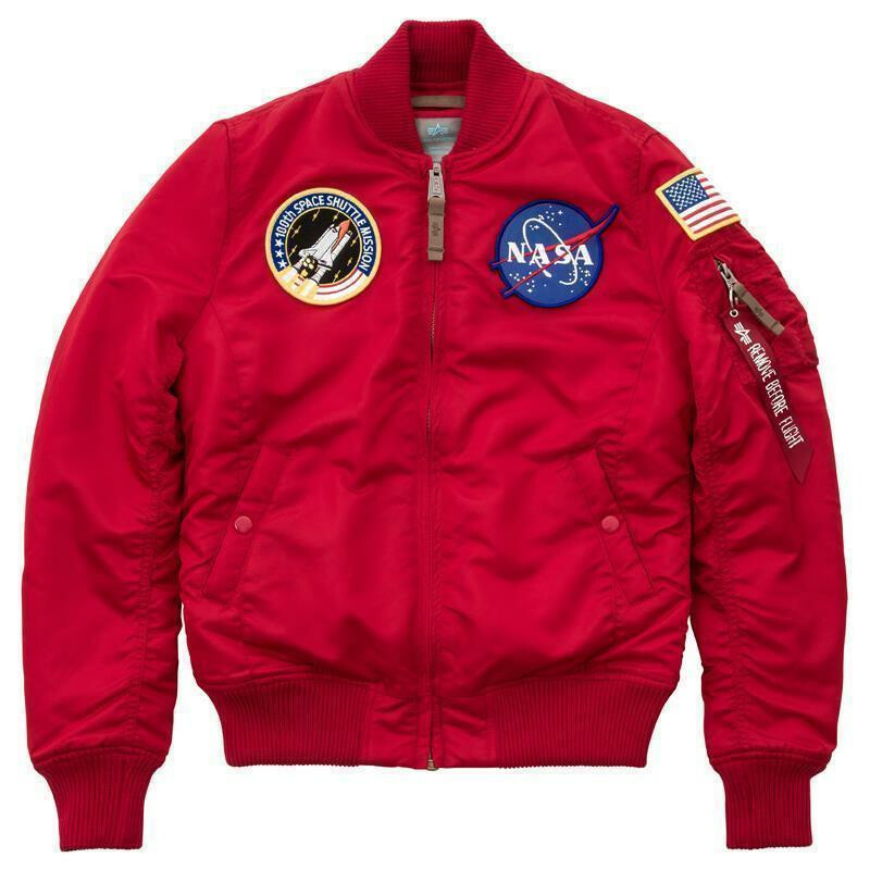 MA 1 VF NASA Wmn Bomber & Fliegerjacken | Alpha Industries