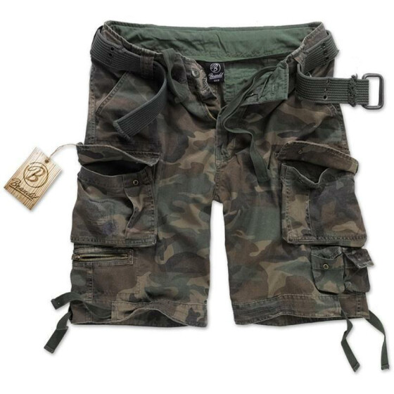 BRANDIT Savage Shorts, woodland