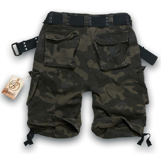BRANDIT Savage Shorts, dark camo