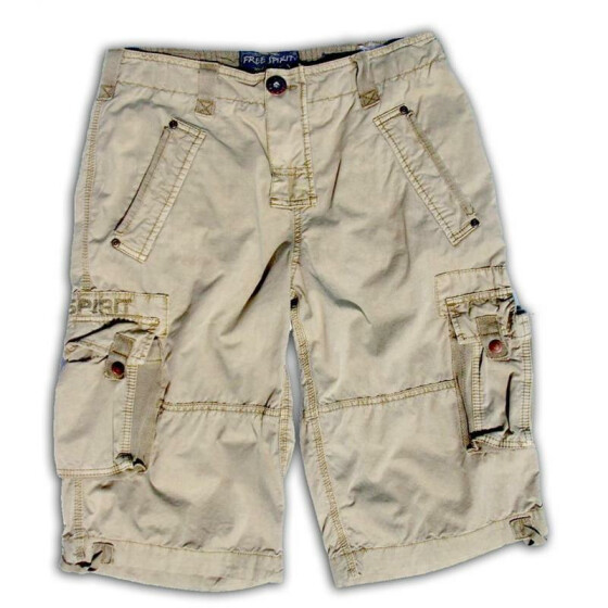 FREE SPIRIT SIMPSON Men Cargo Short, sand