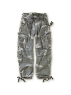 SURPLUS Airborne Vintage Trouser, stonewashed, night camo