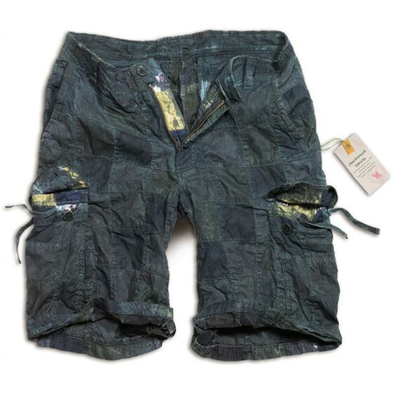 SURPLUS Checkboard Shorts, blue