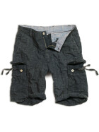 SURPLUS Checkboard Shorts, black