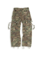 SURPLUS Vintage Fatigues Trousers, woodland