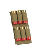 TASMANIAN TIGER 6rd Shotgun Holder, khaki
