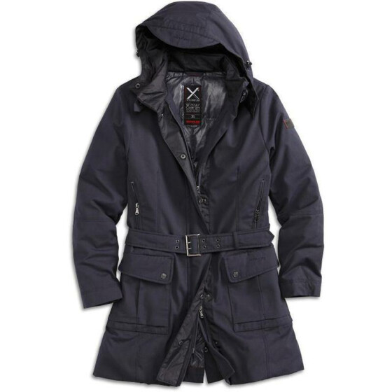 SURPLUS XYLONTUM Winter Coat WN, dark blue