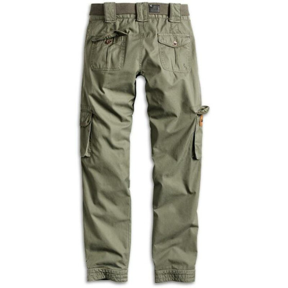 SURPLUS LADIES PREMIUM TROUSERS SLIMMY, olive