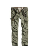 SURPLUS PREMIUM TROUSERS SLIMMY, oliv washed