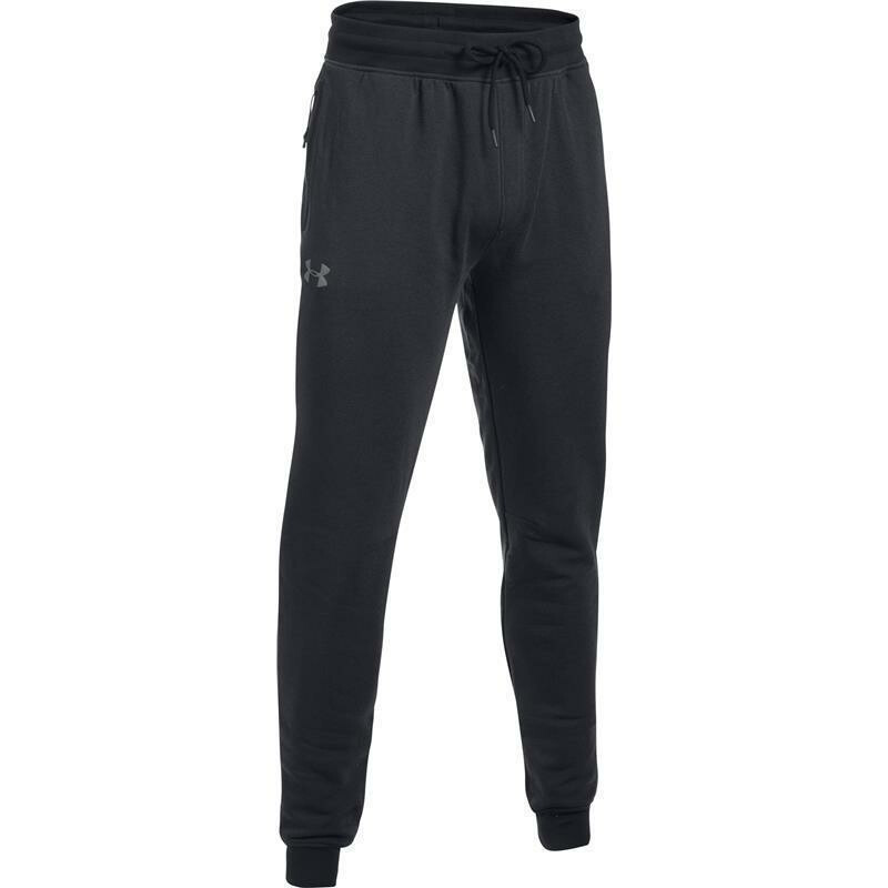 under armour threadborne stagged jogginghose schwarz. Black Bedroom Furniture Sets. Home Design Ideas