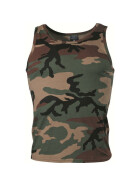 MFH US Tank-Top, woodland