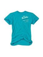 SURPLUS Surfer Tee, petrol