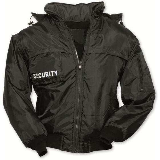 SURPLUS SECURITY Blouson, schwarz