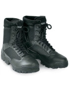 SURPLUS SECURITY Boots, 9-Loch, schwarz