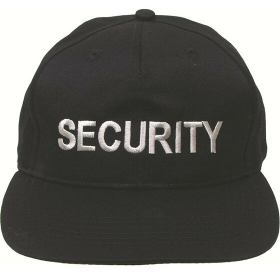 MFH Base-Cap Security, schwarz