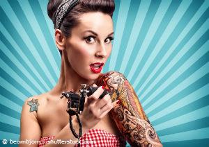 Tattoos sind in jeder Schicht der Gesellschaft akzeptiert